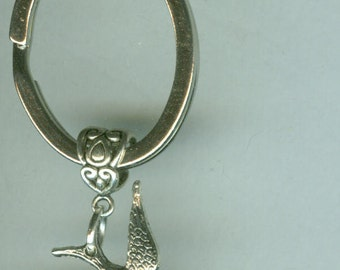 SPARROW Bird Keyring, Keychain, Key Ring, Key Chain