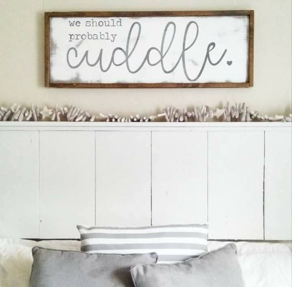 Newlywed Home Decor: Cottage Home Newlywed Decor Inspirational Signs We