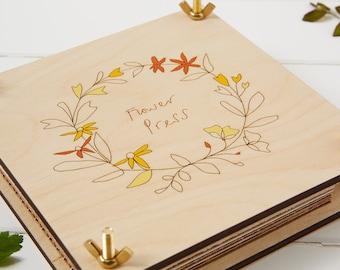 Wooden Flower Press