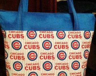 Chicago Cubs fan purse