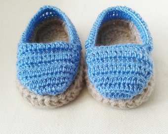 9-12 months baby boy espadrilles, baby shoes, baby boy gift, baby espadrilles, baby booties, baby sandals, unique baby gift, baby boots