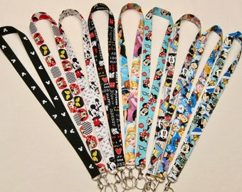 Lanyards Disney Inspired (Your Choice)