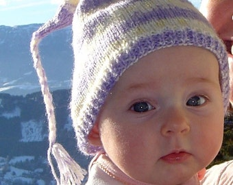 Baby's First French Alpine Ski Hat Pattern PDF
