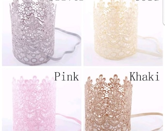 Personalized Crowns, Lace Crowns, Birthday Crowns, Princess Crowns, Toddlers Crowns, Baby Crowns, Princess Birthday Crown, Hair Crowns,