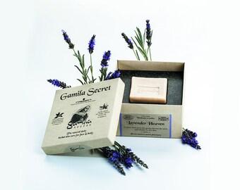 Handmade Soap, Gamila Secret, Cleansing Bar, Body Soap, Natural Soap, Lavender Soap, Travel Size Soap, Psoriasis Soap, Bar Soap, Eczema