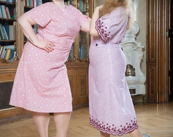 Dorothy dress in the style of 30s years plus size
