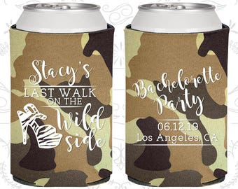 Last Walk on the Wild Side, Bachelorette Can Cooler, Bachelorette Coolers (60148)