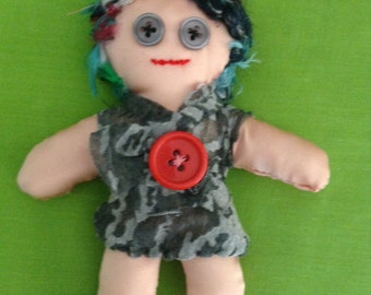 Art doll #6 - Free delivery to the UK