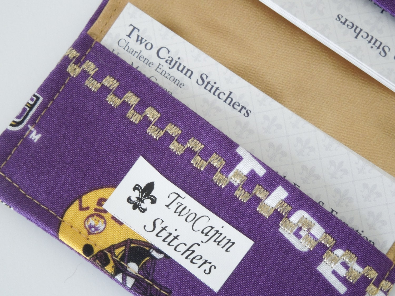 LSU Business Card or Credit Card Holder for tailgating