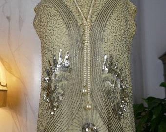 1920 Flapper Dress, antique dress, antique gown, Charleston Dress, antikes Kleid