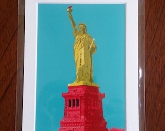 Statue of Liberty digital print