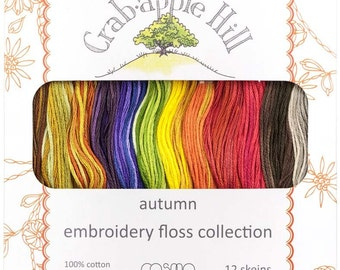 Crabapple Hill Autumn 12 Skein Lecien Floss Collection # 25015-3