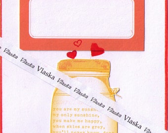 Valentine's card, love cards, downloadable cards, artist trading cards