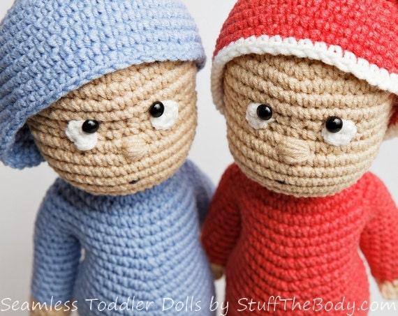 Amigurumi Boy Doll Pattern : Seamless toddler doll amigurumi pattern baby boy crochet