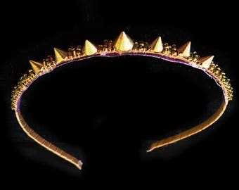 Gold Spike Tiara