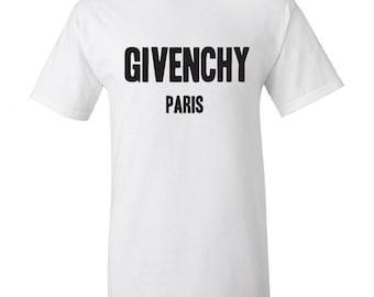 Givenchy Paris  T shirt Givenchy Paris Design Unisex Soft Material