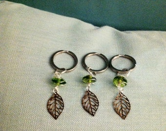 3-Pack: Leafy Greens Keychain