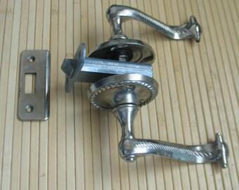 Door handles vintage Antique Door knobs Rustic Handles Metal