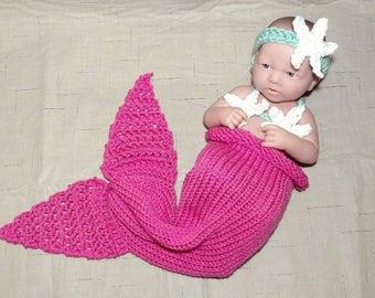Newborn Mermaid Outfit - Full Set Same Price!!!