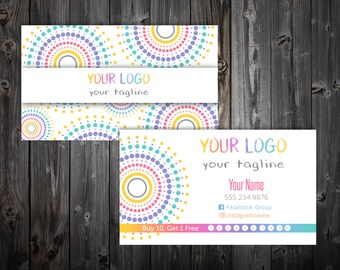 Business Cards - Dotted