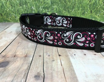 "The Cornet | Designer 1"" Width Dog Collar 