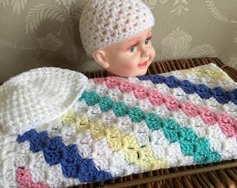 C2C crochet Afghan baby blanket blanket