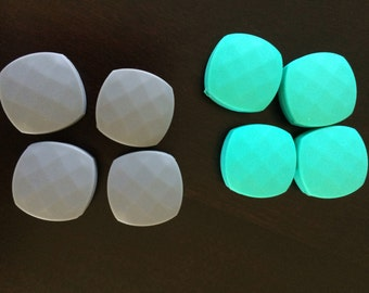 Quadrate Teething Beads Food Grade Silicone