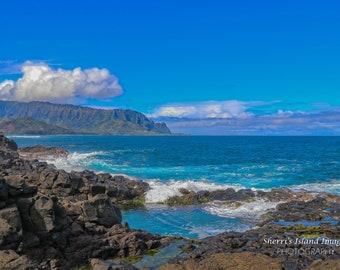 Queens Bath, Princeville, Kauai, Hawaii