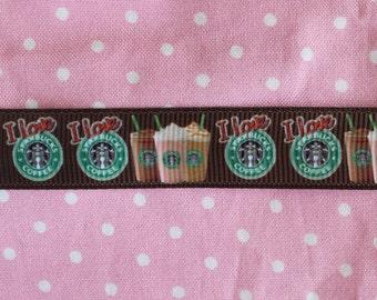 Starbucks Inspired Ribbon