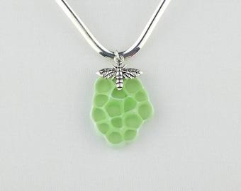 Honeycomb Jewelry ~ Honeycomb Pendant