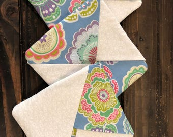 Floral Set of 3 pot holders