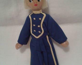 Wooden doll - Poland