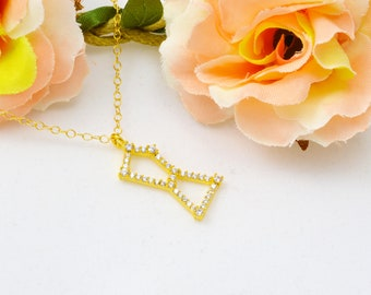 Constellation necklace,Orion sign, orion constellation, Dainty Necklace,star necklace,delicate necklace,zodiac,astrology necklace