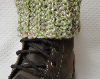 Crochet Boot Cuffs,Boot Cuffs,Green Boot Cuffs,Boot Topper,Boot Sleeves,Boot Socks,Teen Fashion,Women's Fashion,Feminine Boot Cuffs,Boho