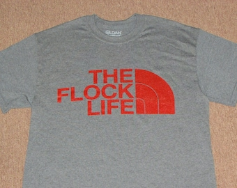 Pigeons Inspired The Flock Life Funk Band Concert T Shirt