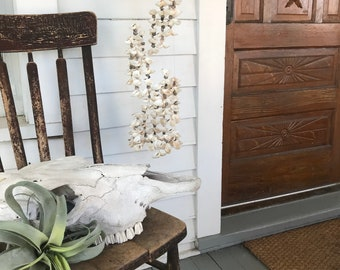 Seashell Chandelier . Bohemian Style . Beach Decor . Wind Chime . Gypsy Vibes