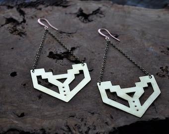 Labyrinth Metal Earrings