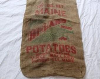 Hi-Land Brand 100 lb. Potato Sack from Presque Island Maine