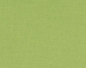 Moda Bella Solids GRASS Green- 1 yard  9900 101  100% Cotton fabric