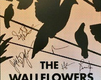The Wallflowers Signed Concert Poster