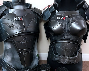 Mass Effect Armor - Commander Shepard Inspired - Made to Order (4 months)