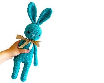 READY TO SHIP: crochet bunny - amigurumi bunny - rabbit - crochet toy - handmade - gift for kids