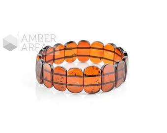 Genuine Amber Bracelet // 4439