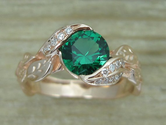 oliveavenuejewelry rings wedding pin ring halo by engagement emerald
