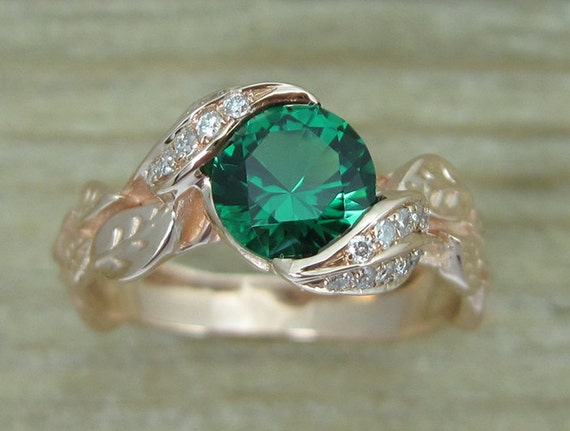 interweaved bands rings in emerald green nl wg jewelry with diamond design gold band heart white wedding