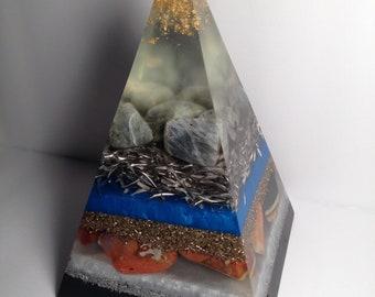 Russian Nubian Orgone Energy Pyramid