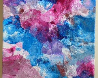Mixed Media, Original Artwork, Unique Art, Textured Art, Decorative Painting, Decorative Art,