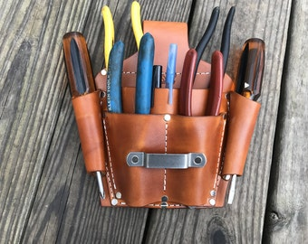 Heavy Duty Multiple Tool Pouch for Belts