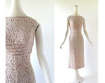 50s Lace Dress | Interlude | 1950s Dress | XS