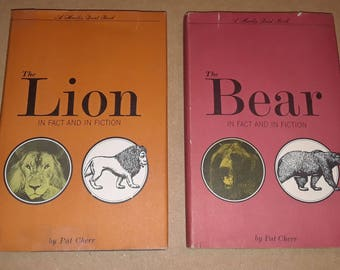 Lion and bear 2 books by Cherr